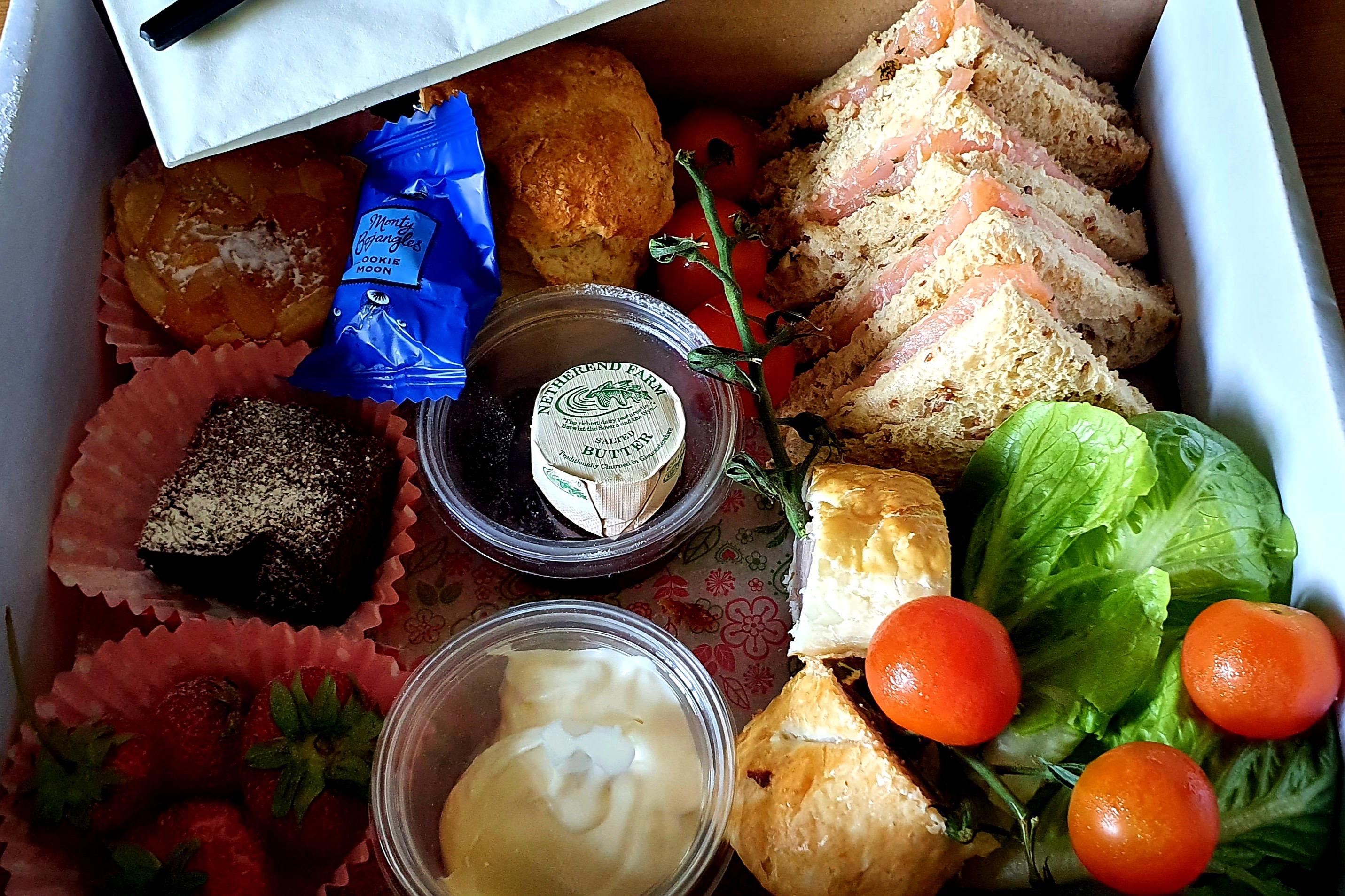 Shropshire Cream Tea in a Box