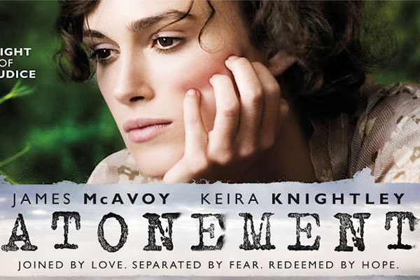 Atonement Filiming - Keira Knightley