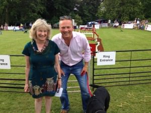 Caroline Magnus & Jules Hudson ready for the day